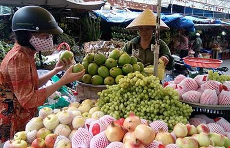 Nở rộ trái cây Trung Quốc núp bóng hàng Việt - 1