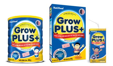 GrowPLUS+ của NutiFood giúp trẻ tăng cân ở giai đoạn vàng - 3