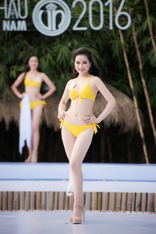 Top 33 Hoa hậu Việt Nam mơn mởn với bikini - 7