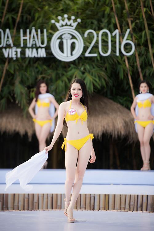 Top 33 Hoa hậu Việt Nam mơn mởn với bikini - 15