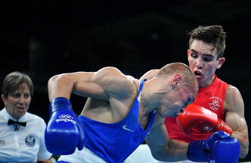 Olympic: Thua oan ức, võ sĩ bật khóc thóa mạ trọng tài - 2