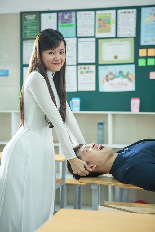 Xao xuyến trước cặp đôi học sinh Midu, Harry Lu - 4