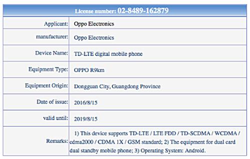 Lộ điện thoại Oppo R9s sắp ra mắt - 3