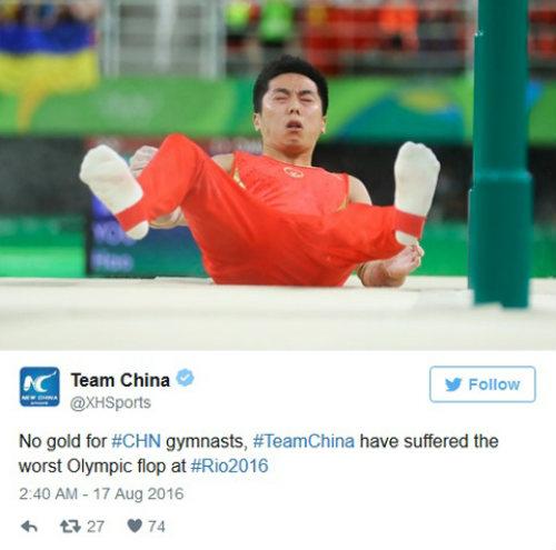 Bảng xếp hạng HCV Olympic: Trung Quốc thảm hại - 2