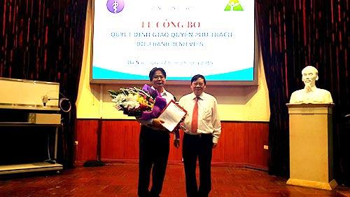 Bộ Y tế bổ nhiệm người điều hành Bệnh viện Việt Đức - 1