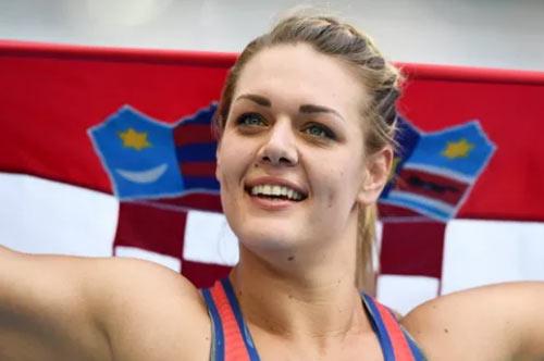 """Bà nghị sĩ Croatia làm """"tan chảy"""" Olympic Rio - 3"""