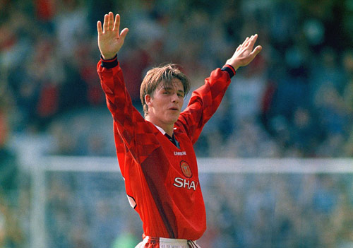 Beckham & 20 năm siêu phẩm giữa sân để đời cho MU - 2