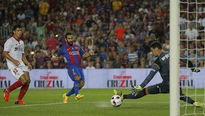 Chi tiết Barca - Sevilla: Dạo chơi ở Nou Camp (KT) - 3