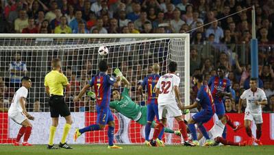 Chi tiết Barca - Sevilla: Dạo chơi ở Nou Camp (KT) - 5