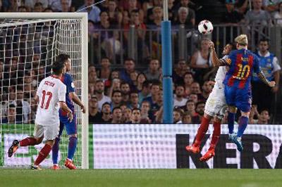 Chi tiết Barca - Sevilla: Dạo chơi ở Nou Camp (KT) - 8
