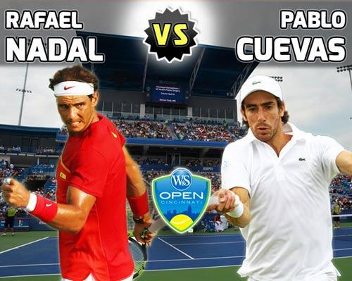 Nadal- Cuevas: 2 set đối lập (V2 Cincinnati) - 1