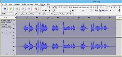Cách tạo hiệu ứng âm thanh sóc chuột với Audacity - 1