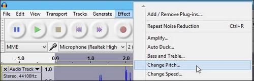 Cách tạo hiệu ứng âm thanh sóc chuột với Audacity - 2