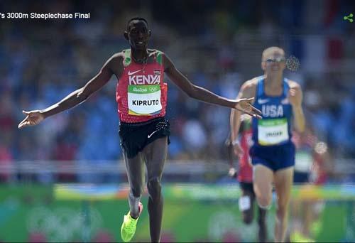 Tin nóng Olympic ngày 12: VĐV Kenya phá kỉ lục 32 năm - 1