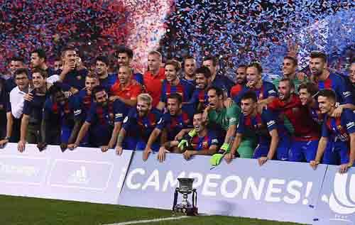 Barca giành Siêu cúp, Turan được ngợi ca hơn Messi - 2
