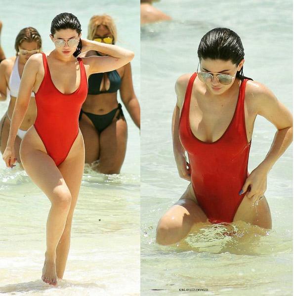 """""""Hot girl Hollywood"""" mê tít áo tắm khoét hông táo bạo - 14"""