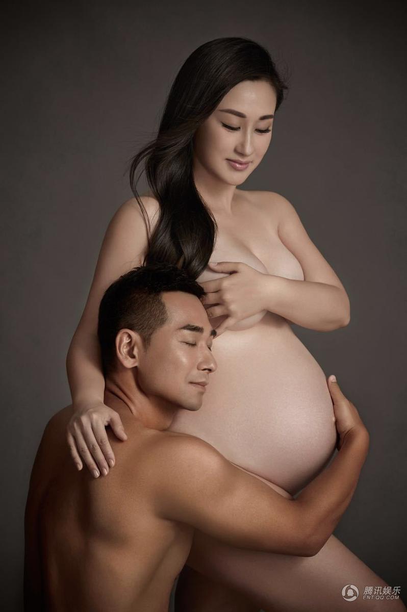 """Sao """"Hoàng Phi Hồng"""" khỏa thân bên vợ bầu - 2"""