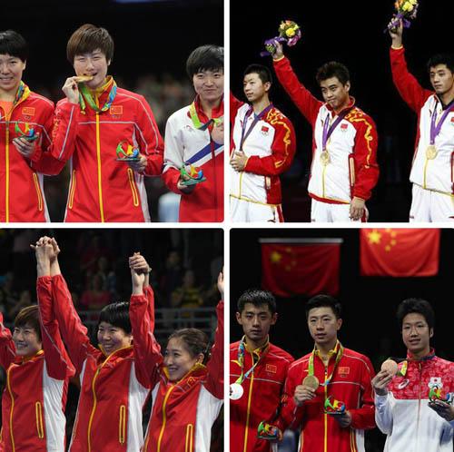 Trung Quốc ẵm trọn 4 HCV bóng bàn Olympic: Quyền lực vĩnh cửu - 1