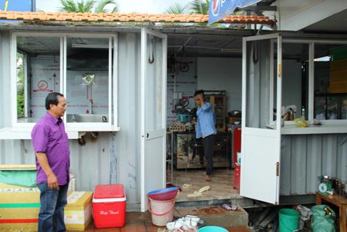 """Dựng container làm nơi rửa chén, chủ quán Xin Chào bị """"dọa"""" cưỡng chế - 4"""