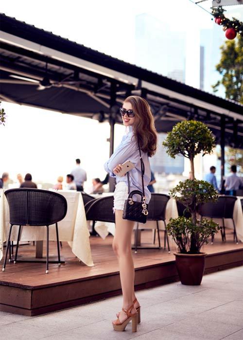 Blogger Việt không chỉ xinh như hoa hậu còn mặc đẹp - 4