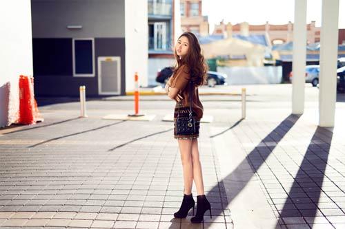 Blogger Việt không chỉ xinh như hoa hậu còn mặc đẹp - 13