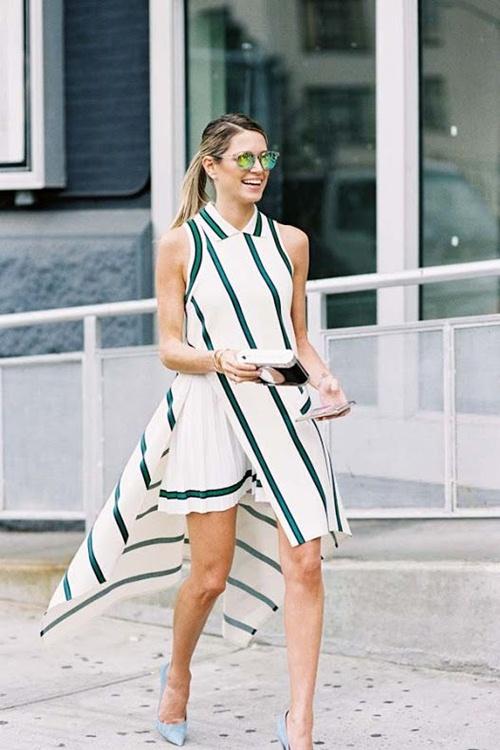 Nếu đã thích một chiếc váy kẻ, đừng chần chừ! - 10