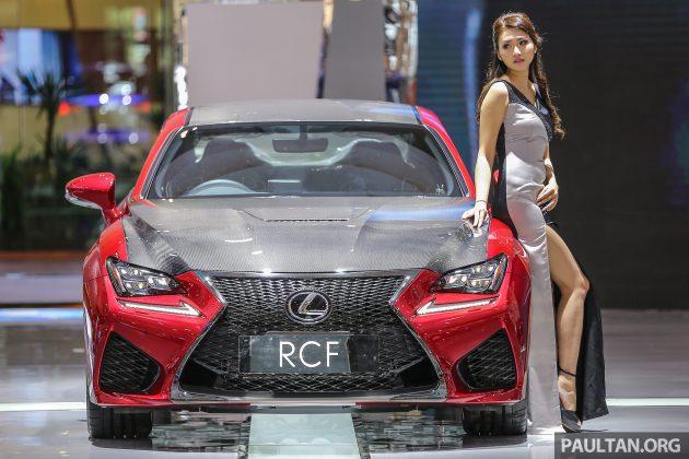 Ra mắt mẫu xe Lexus RC F độ sợi carbon - 1