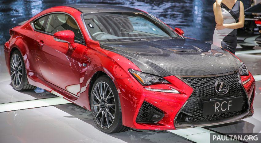 Ra mắt mẫu xe Lexus RC F độ sợi carbon - 3