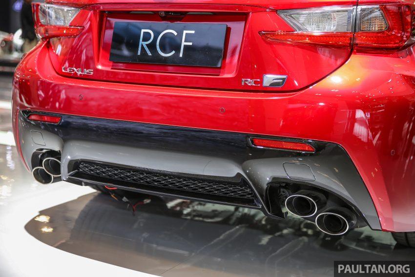 Ra mắt mẫu xe Lexus RC F độ sợi carbon - 4