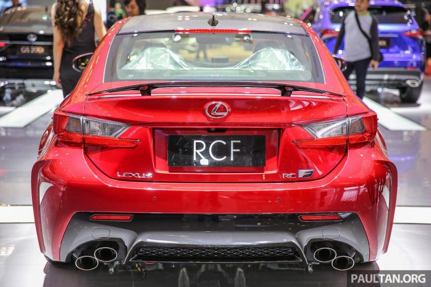 Ra mắt mẫu xe Lexus RC F độ sợi carbon - 5