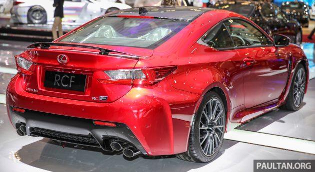 Ra mắt mẫu xe Lexus RC F độ sợi carbon - 2