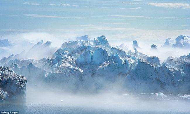 Ngắm núi băng 3 vạn năm tuổi cổ nhất thế giới - 11