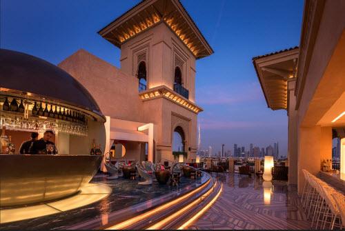 Những khách sạn có sân thượng đẹp nhất thế giới - 4