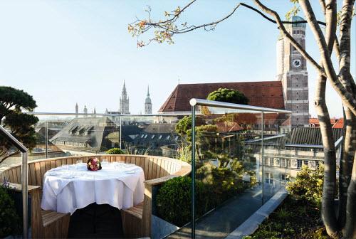 Những khách sạn có sân thượng đẹp nhất thế giới - 10
