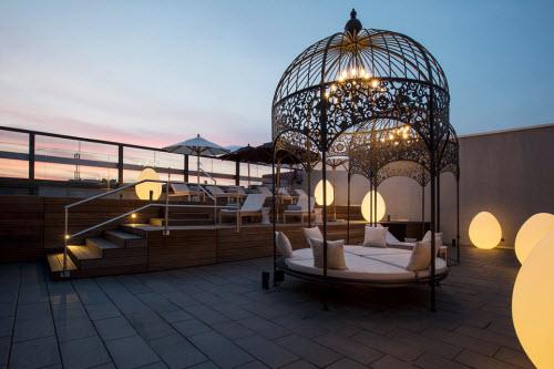 Những khách sạn có sân thượng đẹp nhất thế giới - 11