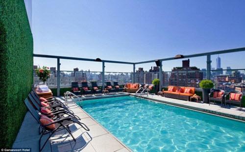 Những khách sạn có sân thượng đẹp nhất thế giới - 12