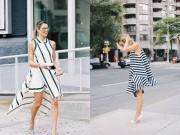 Nếu đã thích một chiếc váy kẻ, đừng chần chừ!