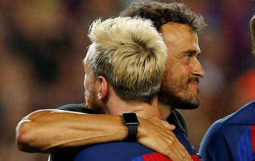 """Enrique ở Barca: Thực tài hay """"ăn may"""" nhờ Messi - 1"""