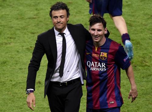 """Enrique ở Barca: Thực tài hay """"ăn may"""" nhờ Messi - 2"""