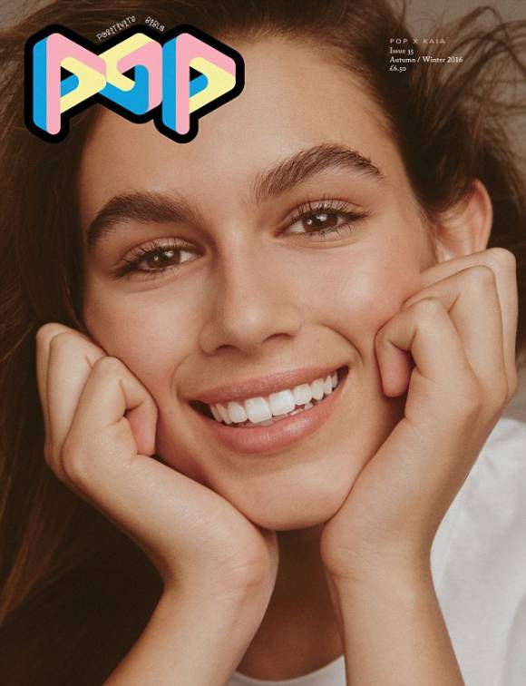 Con gái Cindy Crawford lên bìa tạp chí thời trang danh tiếng - 5
