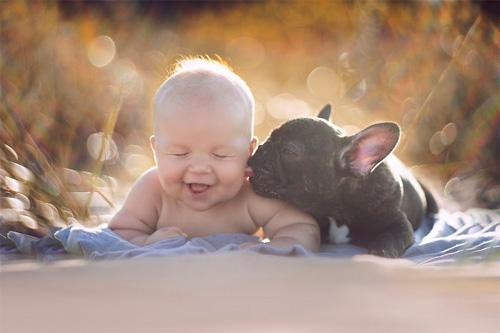 Hãy cười như lũ trẻ vui vẻ bên chó mèo - 1