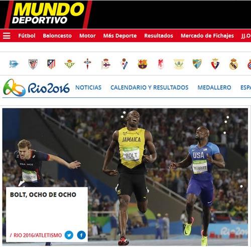 """161 giây lấy 8 HCV Olympic: """"Người ngoài hành tinh"""" U.Bolt - 7"""