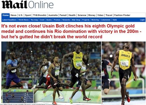 """161 giây lấy 8 HCV Olympic: """"Người ngoài hành tinh"""" U.Bolt - 6"""