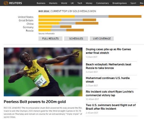 """161 giây lấy 8 HCV Olympic: """"Người ngoài hành tinh"""" U.Bolt - 5"""