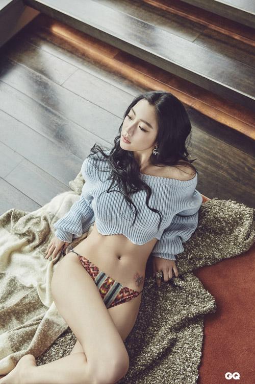 """""""Bom sex Hàn"""" quá bốc lửa lấn át nữ chính Xa Thi Mạn - 10"""