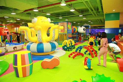 Thế giới giải trí đầy màu sắc tại Mipec Long Biên - 1