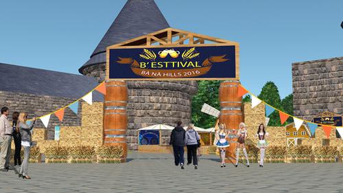 Độc đáo lễ hội B'estival lần đầu tiên được tổ chức tại Bà Nà Hills - 1