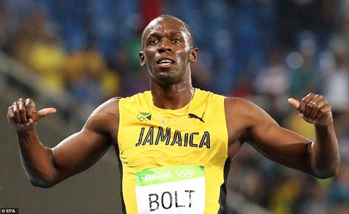 Olympic: Đoạt Vàng, Usain Bolt vẫn chưa thấy vui - 2