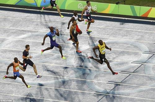 Olympic: Đoạt Vàng, Usain Bolt vẫn chưa thấy vui - 1