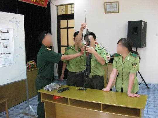 Kiểm lâm Yên Bái được trang bị 105 khẩu súng K59 và AK - 1